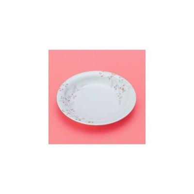メラミン製 シーズン2 20cm丸皿 スリーライン[GHS-474] 食器 メラミン プラスチック製 樹脂製 温冷配膳車対応 病院 施設 皿 器