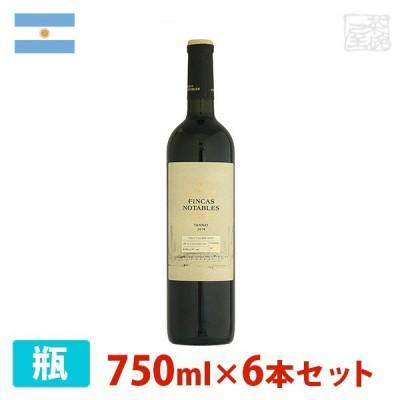フィンカ ノターブレス タナ 750ml 6本セット 赤ワイン 辛口 アルゼンチン