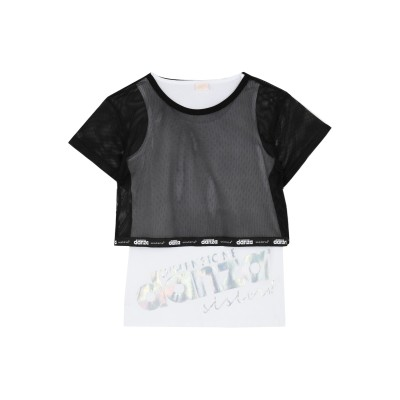 DIMENSIONE DANZA SISTERS T シャツ ホワイト 14 コットン 90% / ポリウレタン 10% T シャツ