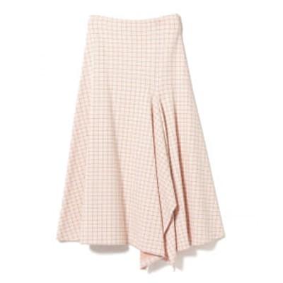【アウトレット】ROSETTA GETTY / チェック スカーフ スカート