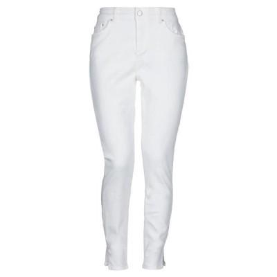 PIECES ジーンズ ファッション  レディースファッション  ボトムス  ジーンズ、デニム ホワイト