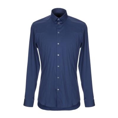 パトリツィア ペペ PATRIZIA PEPE シャツ ブルー 46 コットン 67% / ナイロン 27% / ポリウレタン 6% シャツ