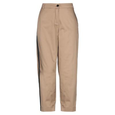 VANESSA SCOTT パンツ ライトブラウン S コットン 97% / ポリウレタン 3% パンツ