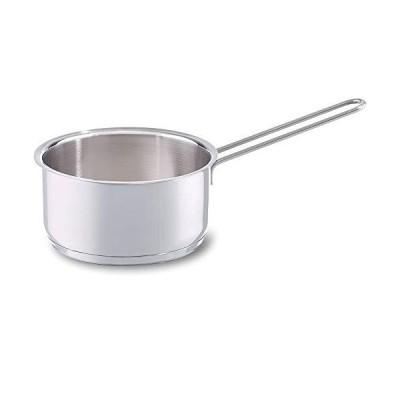 フィスラー (Fissler) 片手鍋 スナッキー ソースパン シルバー 14cm 小さい ガス火/IH対応 008-166-14-100