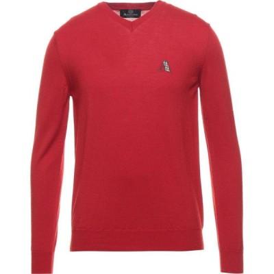 アクアスキュータム AQUASCUTUM メンズ ニット・セーター トップス Sweater Red