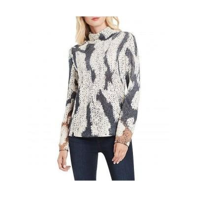NIC+ZOE ニックアンドゾー レディース 女性用 ファッション セーター Tundra Turtleneck - Indigo Multi