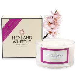 H&W 英倫薇朶 櫻花三蕊香氛燭480g