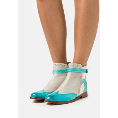 メルヴィンアンドハミルトン レディース 靴 シューズ SELINA - Ankle boots - vegas/turquoise/oxygen/white/mermaid/natural