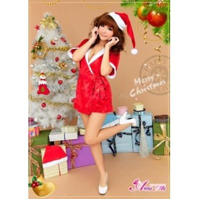 即納 サンタ コスプレ サンタコス コスチューム 衣装 定番 ワンピ クリスマス サンタコスチューム 2020 サンタクロース 赤