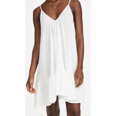 ナインシード 9seed レディース ワンピース ミニ丈 ワンピース・ドレス St. Tropez Mini Dress White