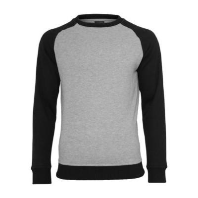 アーバンクラシックス メンズ ファッション Sweatshirt - grey/black