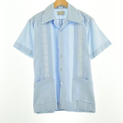 Style Wise オープンカラー 半袖 キューバシャツ メンズM 【中古】 【200626】 /eaa051121