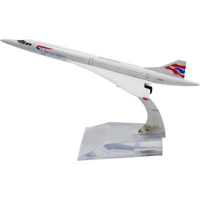 TANG DYNASTY 1/400 16cm ブリティッシュ・エアウェイズ British Airways コンコルド 高品質合金飛行機プ