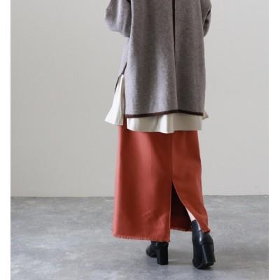 【チーク/Cheek】 フリンジタイトスカート