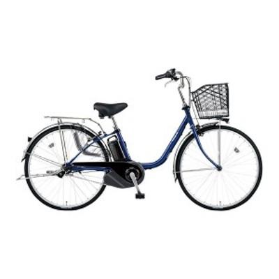 PANASONIC BE-ELSX432-V Pファインブルー ビビ・SX [電動アシスト自転車(24インチ・内装3段)]