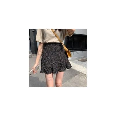ミニスカートレディースプリンツスカートAライン台形シンプルショートスカート体型カバー2020春夏新作