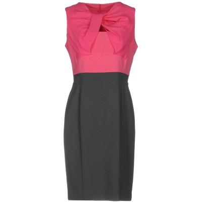 D.EXTERIOR ミニワンピース&ドレス フューシャ 42 ポリエステル 90% / ポリウレタン 10% / シルク ミニワンピース&ドレス