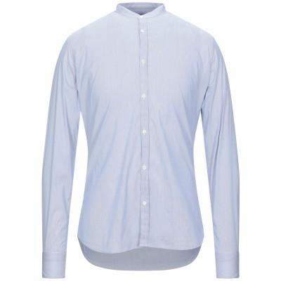 アリーニ AGLINI シャツ ブルー 39 コットン 78% / ナイロン 17% / ポリウレタン 5% シャツ