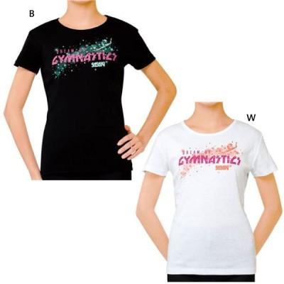 ササキ レディース 体操 新体操 Tシャツ 半袖Tシャツ トップス トレーニング 練習着 559