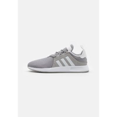 アディダスオリジナルス スニーカー メンズ シューズ X_PLR UNISEX - Trainers - medium grey heather/solid grey/footwear white/core black