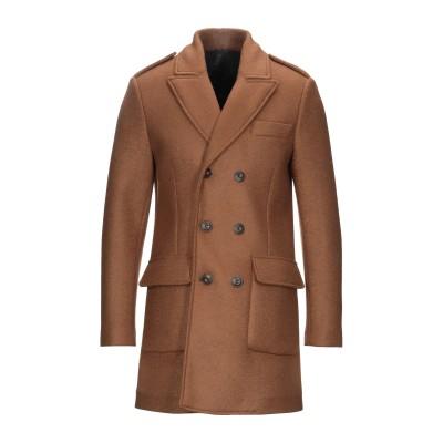 ERO コート ブラウン 48 ポリエステル 60% / アクリル 25% / バージンウール 12% / ポリウレタン 3% コート