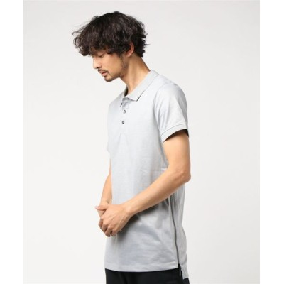 GUESS / SS MARLON COATED LONG POLO MEN トップス > ポロシャツ