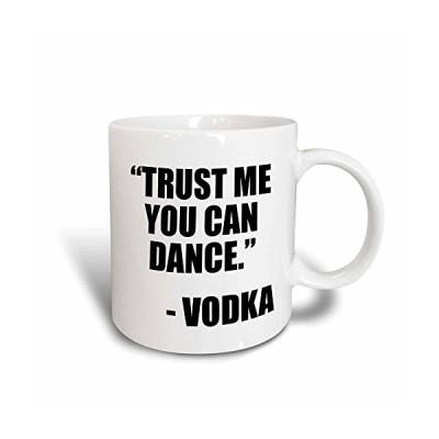 3dRose Trust Me You Can Dance Vodka Black Magic Transforming Mug, 11-Ounce【並行輸入品】