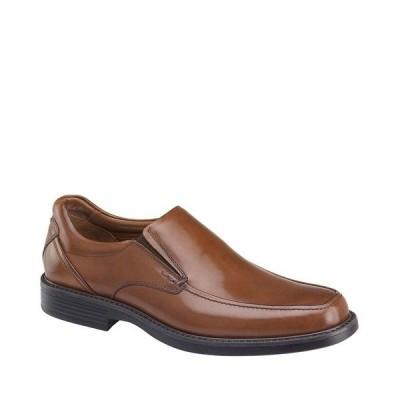 ジョンストンアンドマーフィー メンズ ブーツ&レインブーツ シューズ Men's XC4 Stanton Moc Waterproof Venetian Slip-Ons Tan