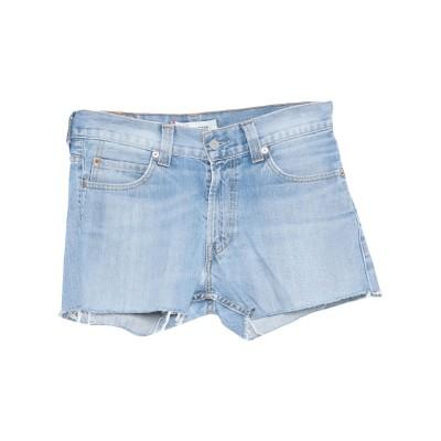 LEVI' S デニムショートパンツ ブルー 32 コットン 100% デニムショートパンツ