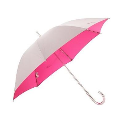 プーマ 婦人 表シルバースライドショート晴雨兼用手開傘 ピンク 47cm×8R PL247NB-S