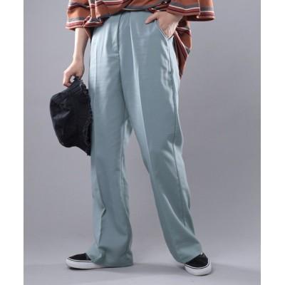 Perushu / センタープレスフレアパンツ WOMEN パンツ > スラックス