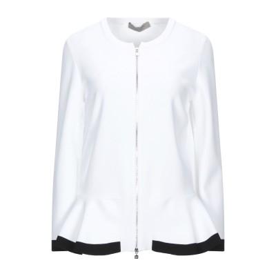 D.EXTERIOR テーラードジャケット ホワイト L レーヨン 86% / ポリエステル 14% テーラードジャケット