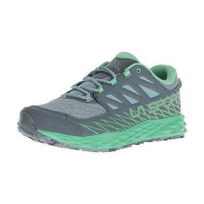 37 B EU, Stone Blue/Jadegreen  La Sportiva Lycan Running Shoe  Womens
