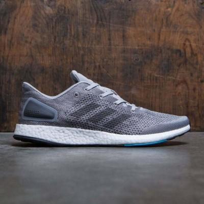 アディダス Adidas メンズ スニーカー シューズ・靴 PureBOOST DPR gray/solid grey/grey two
