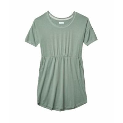 コロンビア レディース ワンピース トップス Slack Water Knit Dress Light Lichen