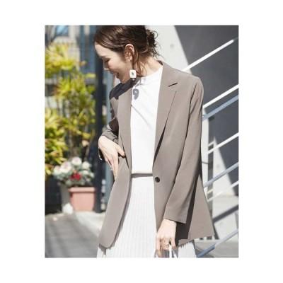 MICHEL KLEIN / 【洗える】ライトロングテーラードジャケット