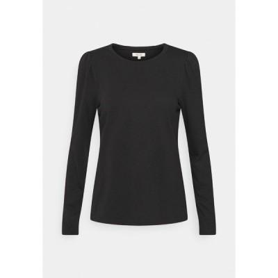メイドウェル カットソー レディース トップス ALICIA PUFF SLEEVE TEE - Long sleeved top - true black