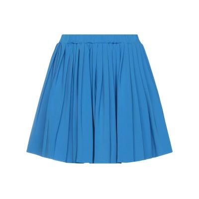 VICOLO ミニスカート アジュールブルー one size ポリエステル 88% / ポリウレタン 12% ミニスカート