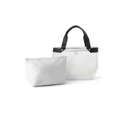 【スープ/SOUP】 バッグインバッグ付きメッシュトートバッグ