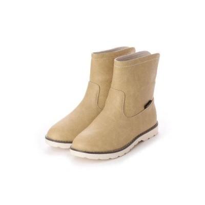アマート Amaort バックスリットショートブーツ (雨天兼用) (BE)
