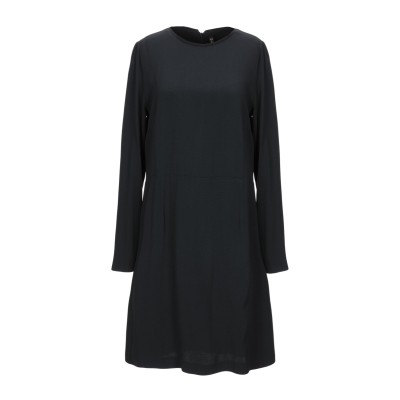 マニラ グレース MANILA GRACE ミニワンピース&ドレス ブラック 38 アセテート 71% / レーヨン 29% ミニワンピース&ドレス