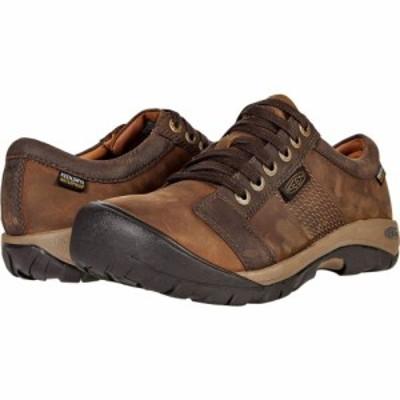 キーン KEEN メンズ スニーカー シューズ・靴 Austin Wp Chocolate Brown