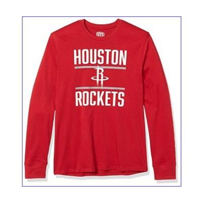 OTS NBA Houston Rockets Men's Rival Long Sleeve Tee, Alternate Double Bar, Small[並行輸入品]
