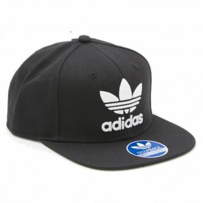 アディダス キャップ メンズ 男性用 オリジナルス ロゴ トレフォイル 帽子 ブラック おしゃれ ブランド