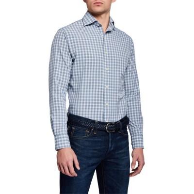 ピーター・ミラー メンズ シャツ トップス Men's Craft Woven Plaid Sport Shirt