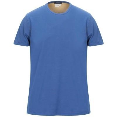 BLU CASHMERE T シャツ ブルー 50 コットン 100% T シャツ