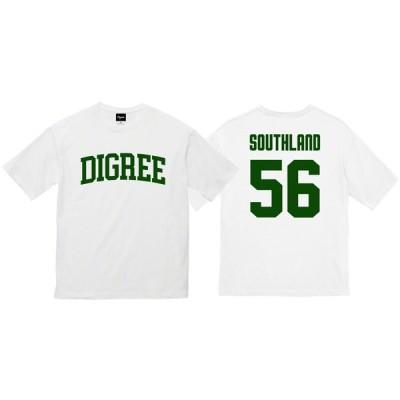DIGREE NUMBERING OVERSIZE BIG TEE WHITE 白 ディグリー ナンバリング オーバーサイズ ビッグ Tシャツ ロゴ ベースボール