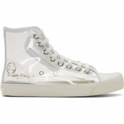メゾン マルジェラ Maison Margiela レディース スニーカー シューズ・靴 Transparent Tabi High-Top Sneakers