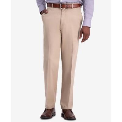 ハガー メンズ カジュアルパンツ ボトムス Men's W2W PRO Relaxed-Fit Flat Front Casual Pants