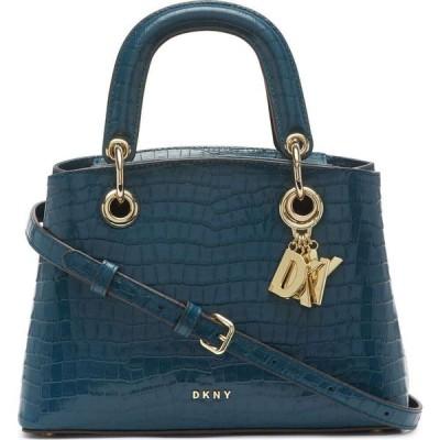 ダナ キャラン ニューヨーク DKNY レディース ハンドバッグ サッチェルバッグ バッグ Toni Small Leather Satchel Teal/Gold